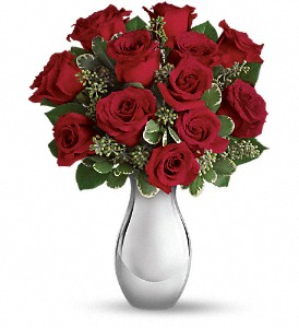 Teleflora True Romance Bouquet with Red Roses