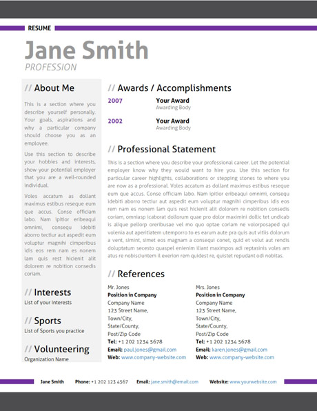 Modern Resumes Samples. Modern Resume 9 Samples Examples Format