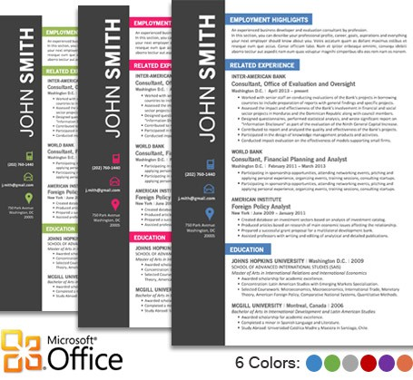 professional templates for word