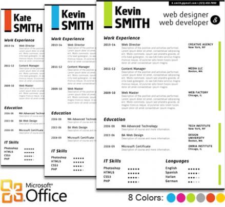 design resume templates word web designer resume template
