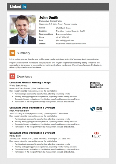 Linkedin Resume Search linkedin and your resume strong job search success team Executive Resume Template Cover Letter Portfolio