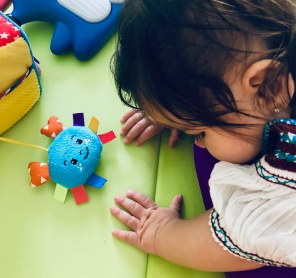 5 Tummy Time Ideas for Babies with CVI