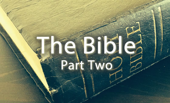 The Bible - Part 2