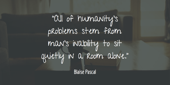Blaise Pascal on humanity's problems