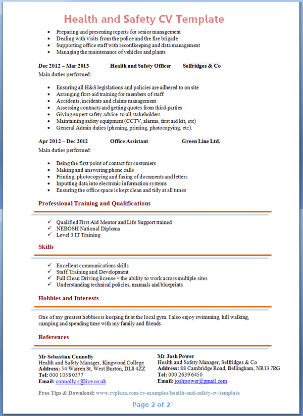 photo resume objective summary examples images