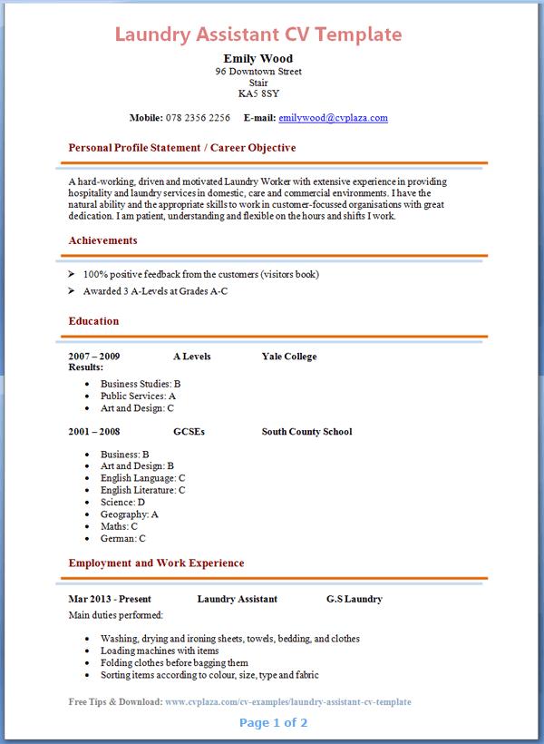 High School Resume Template - The Balance