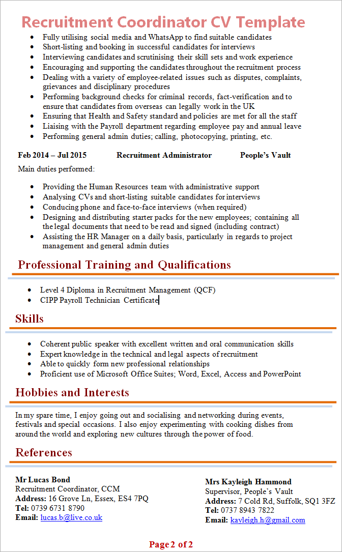 plumbing cv template plumber resume samples resume samples database cv