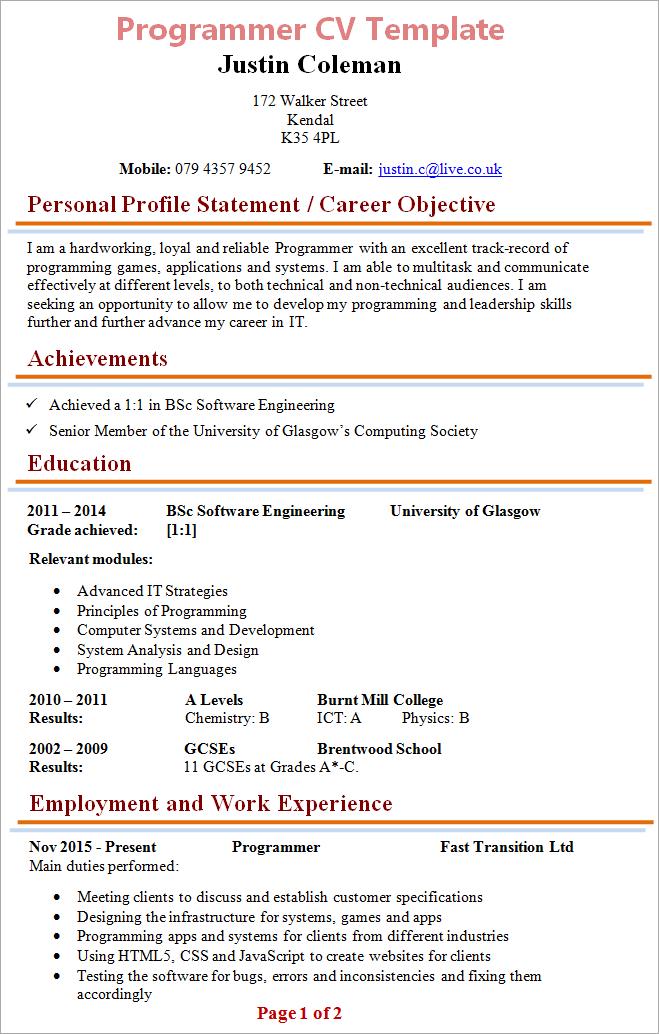 cv layout guidelines recommendation letter sample professor