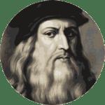 CV Origin timeline Leonardo da Vinci
