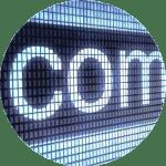 CV Origin timeline Dot Com boom