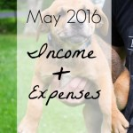May 2016 Income & Expenses