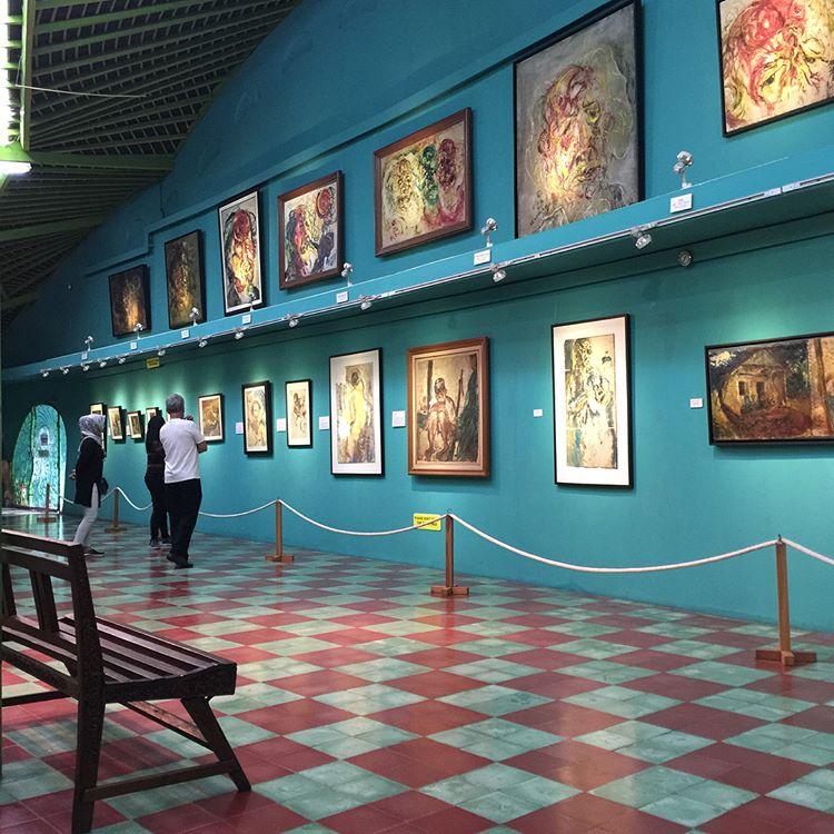 Museum Affandi di Yogyakarta, sumber ig vinakasim