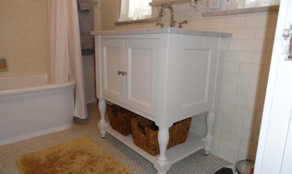 Turn of the century bathroom restoration