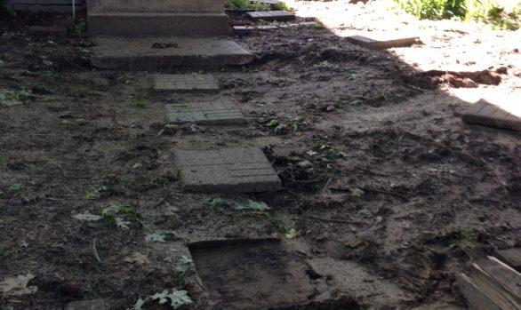 Concrete Work- Before