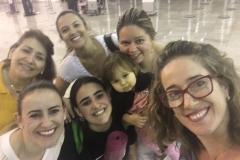 Paola no aeroporto