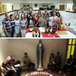 Celebrações de final de ano unem grupos em Florianópolis e Curitiba