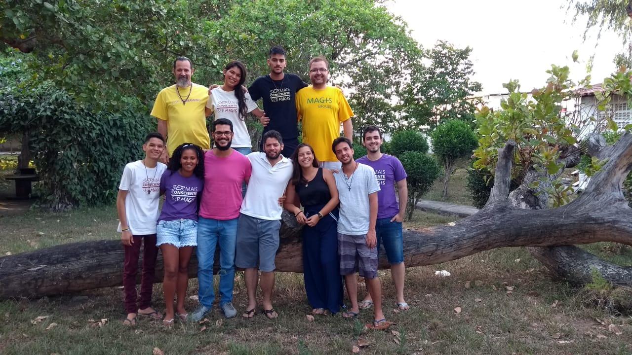 CVX na Reunião na Equipe Magis Bahia