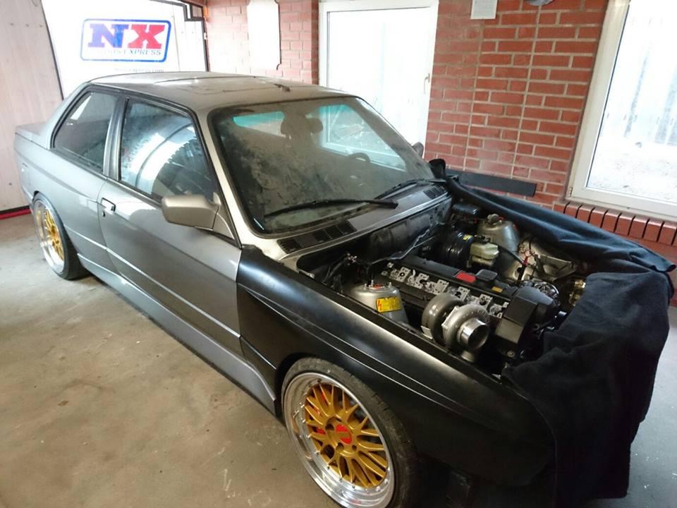 BMW M3 E30 Turbo CWR