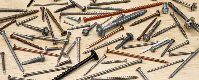 Screws, Nails, Pins & Fasteners