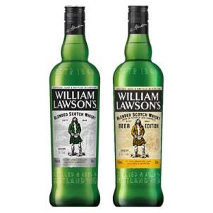 William Lawson's – 0,70cl et 1L 1,50 € DE RÉDUCTION