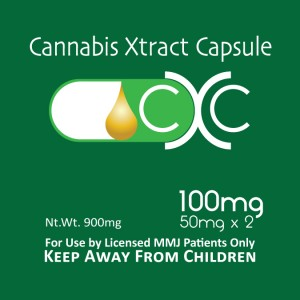 Cannabis Xtract Capsules 100 mg