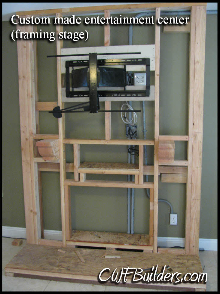 Wall Flat Screen Tv Stand