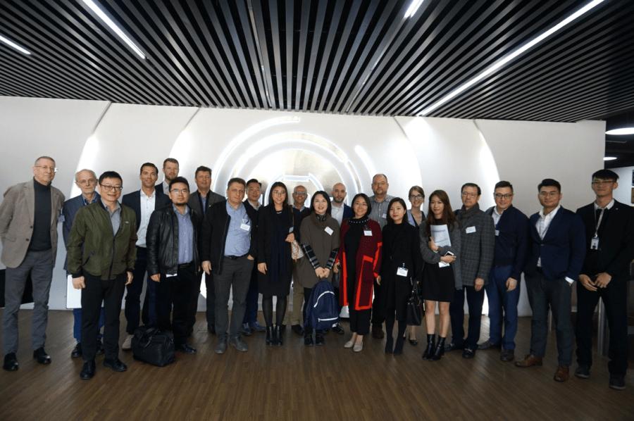 CW German Desk joined GCC Delegation & company visit to Shenzhen