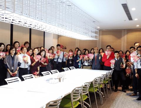 Celebrate Chinese New Year at CW Hong Kong office
