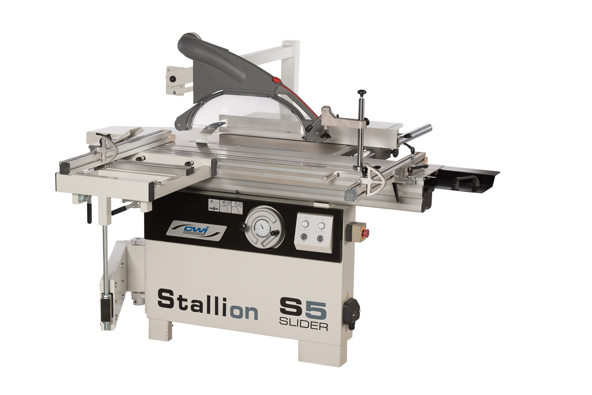 STALLION 5' SLIDING TABLE SAW - CWI Woodworking Technologies