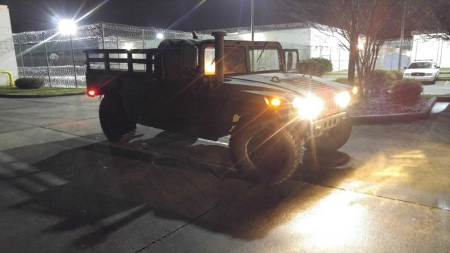 Sheriff Dept Humvee used for high water rescues