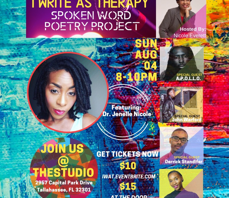 I Write As Therapy: Spoken Word Poetry Project
