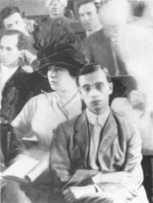 Leo Frank in court-1915 Atlanta,Georgia