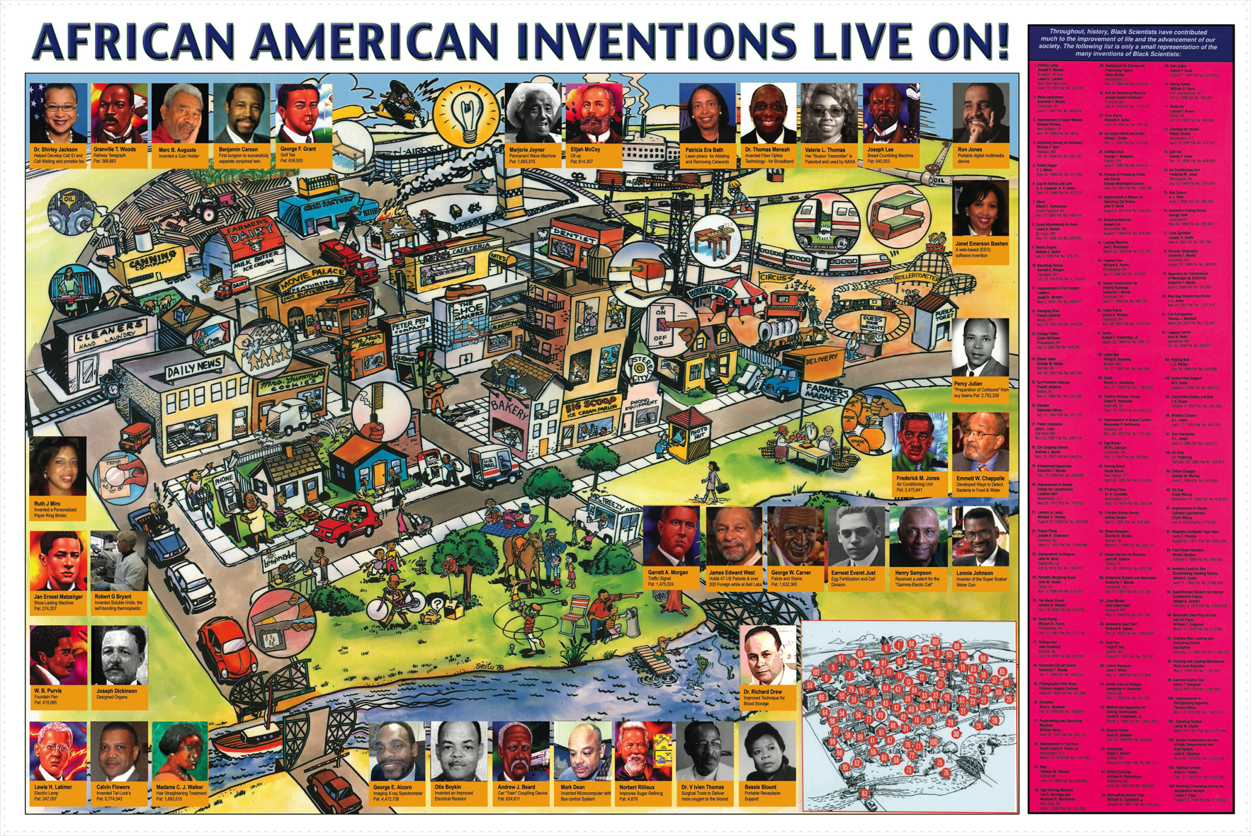 Posters African American Inventors Live On