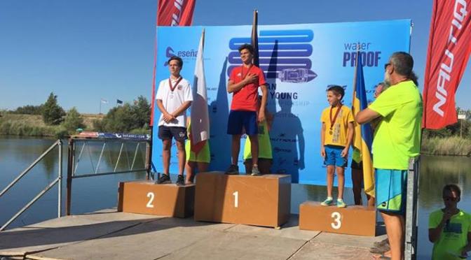 Ondra Kalina má dvě medaile z Mistrovství Evropy a Afriky Juniorů