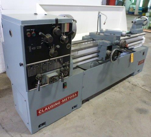 CLAUSING METOSA GAP BED ENGINE LATHE - 29328