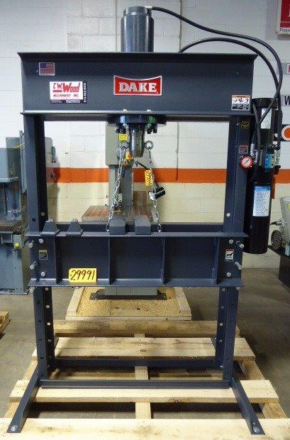 DAKE H-FRAME HYDRAULIC PRESS - 29991