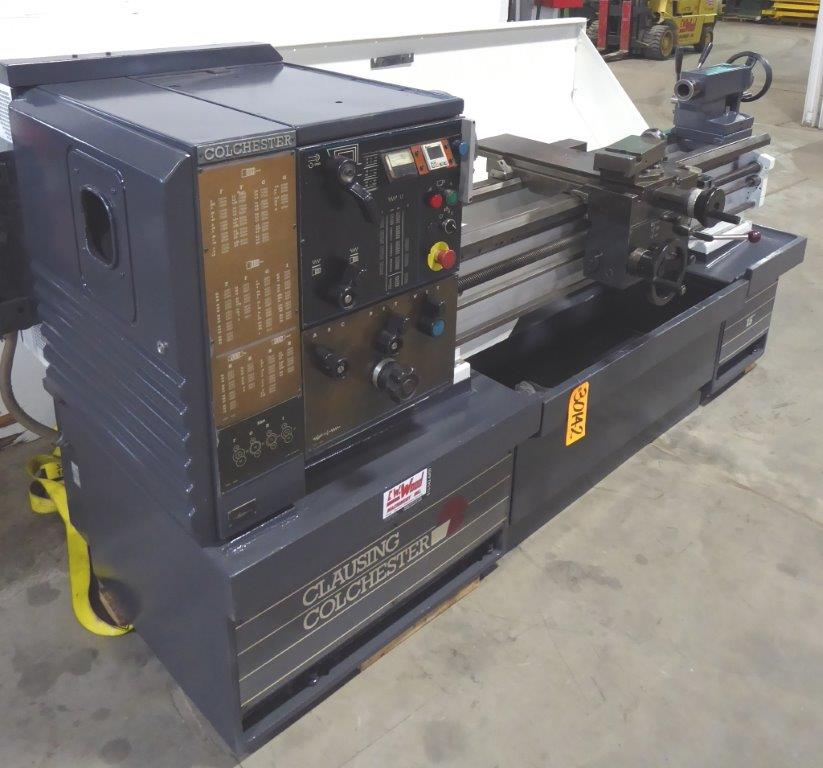 CLAUSING COLCHESTER GEARED HEAD ENGINE LATHE - 30142