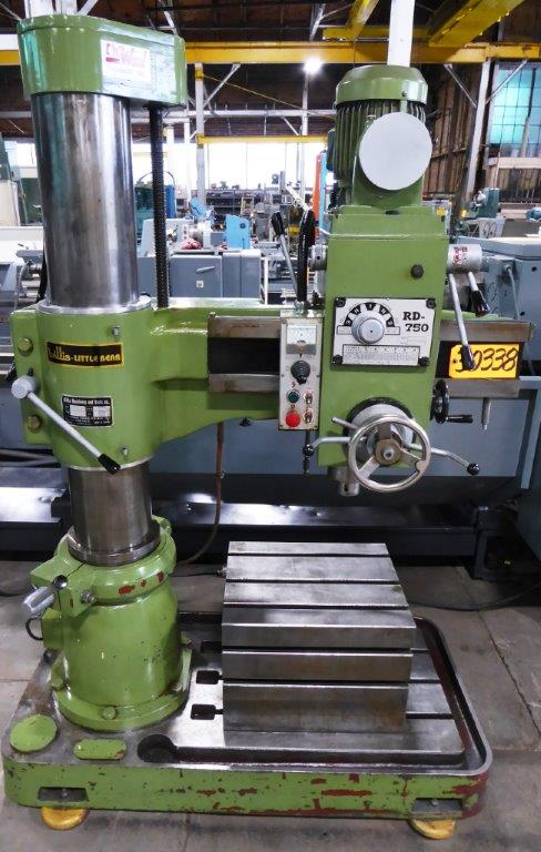"WILLIS ""LITTLE BEAR"" RADIAL DRILL - 30338"