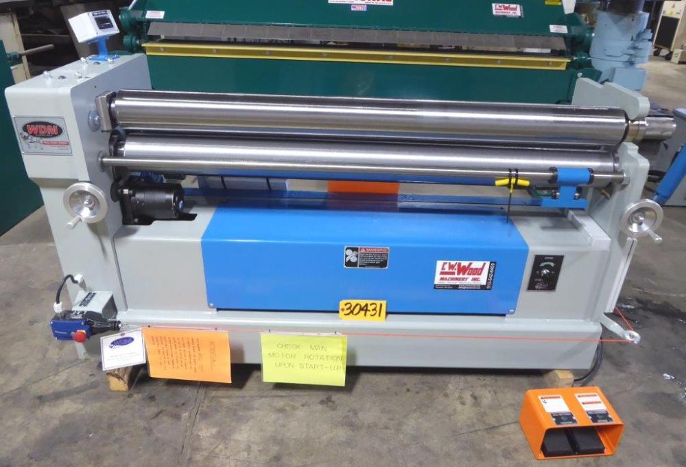 WDM INITIAL PINCH HYDRAULIC BENDING ROLL - 30431