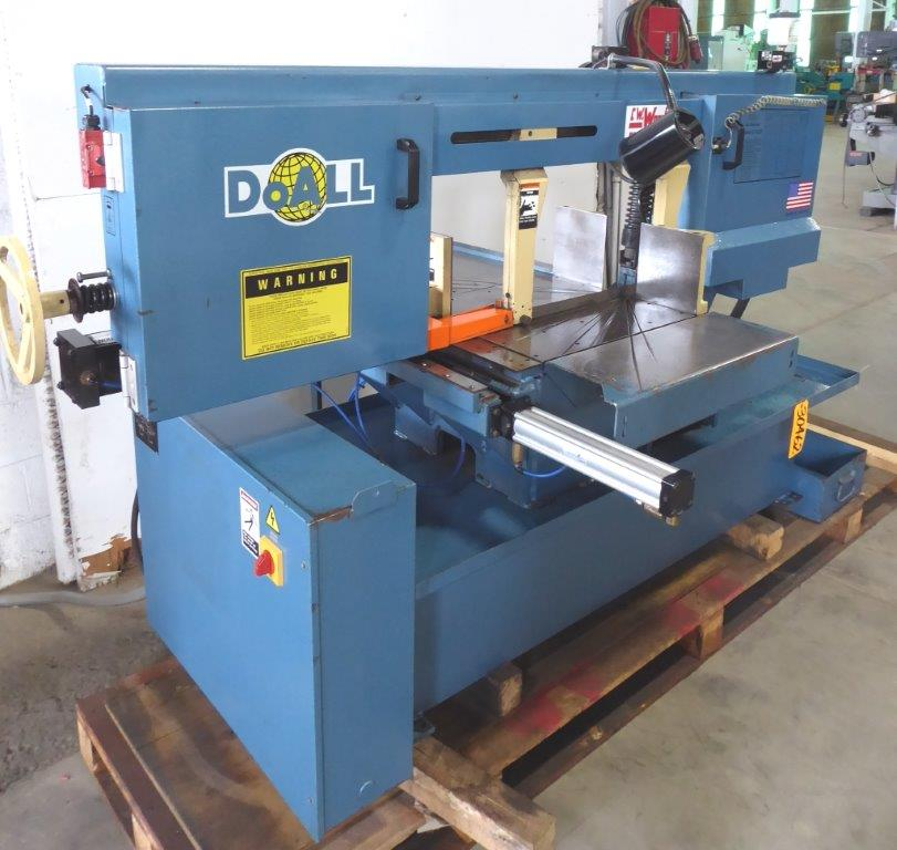 30462_DOALL MITERING HORIZONTAL BAND SAW