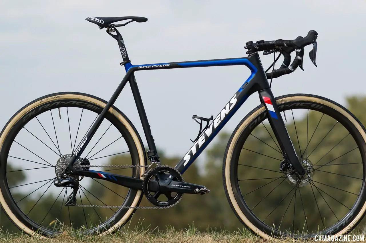bike profile mathieu van der poel s stevens super prestige 2017 jingle cross