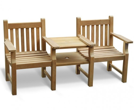 Jack And Jill Wooden Bench