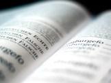 Grundlagen der Typografie Beitragsbild. Es wurde ein aufgeschlagenes Buch fotografiert.