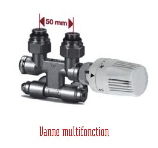 Vanne Multifonction Collecteur By Pass Pour Radiateur