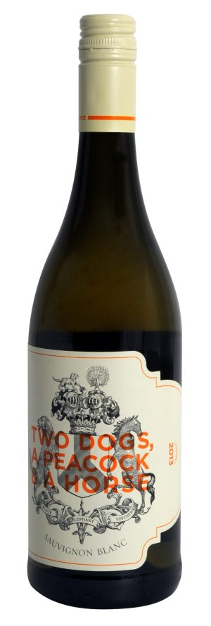 19537 black elephant vintners two dogs a peacock and a horse 2017 1 scaled