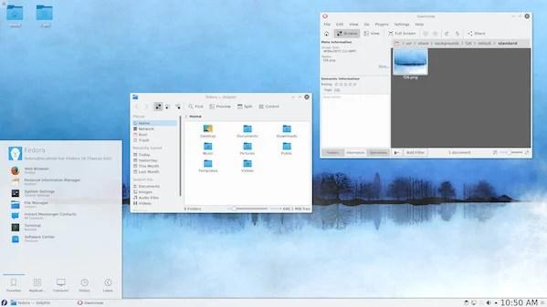 Fedora 26 with KDE