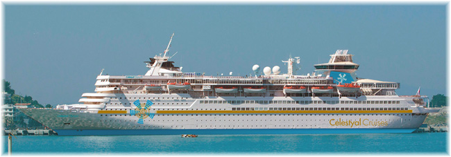 The Celestyal Olympia (Courtesy of Celestyal Cruises)