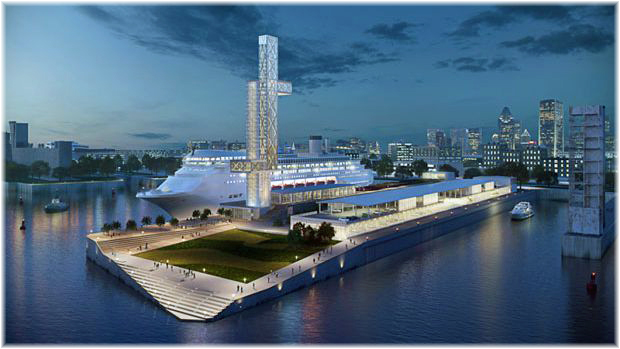 Montreal's new terminal rendering (© Port of Montreal)