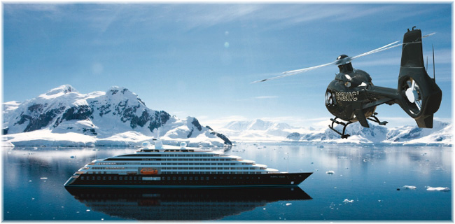 The 16,500-ton, 228-berth ocean-going cruise ship Scenic Eclipse (Artist impression courtesy Scenic Cruises)