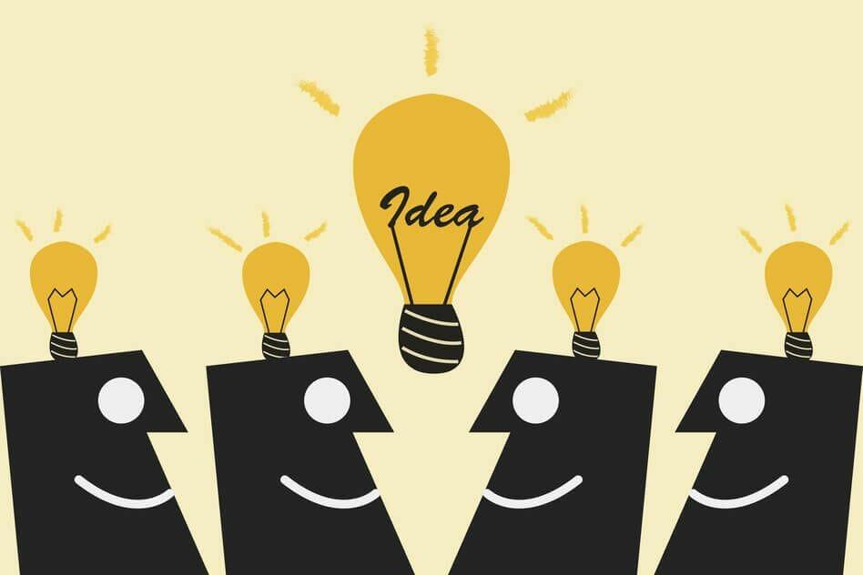 Lluvia de ideas enseña creatividad